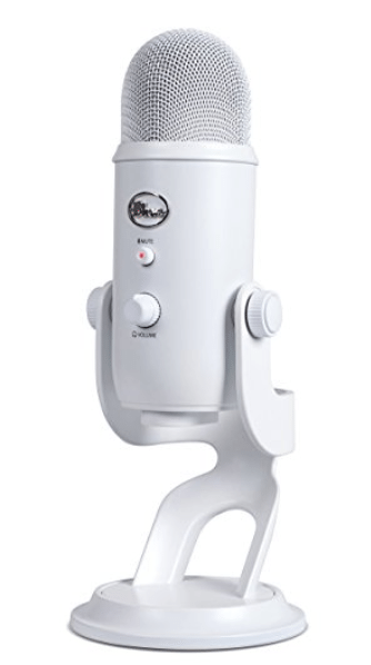 blue yeti microphone gift guide virtual assistant
